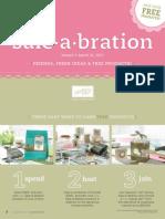 Stampin' Up! Sale-A-Bration 2010