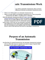 How Automatic Transmissions Work
