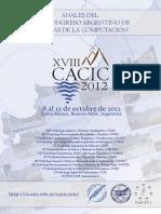CACIC 2012