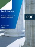 Final Report – Payroll Assurance