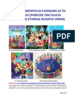 Andal's Thiruppavai Pasurams 26 to 30 Images (Purpose of the Paavai Nombu and Eternal Blissful Union)