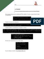 Configuración proFTPD con base de datos MySQL