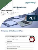 01-EM the CapgeminiWay Introduction - V3.1