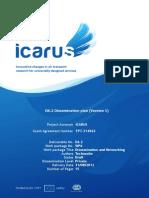 ICARUS_D6 2_DisseminationPlan(Pre-final Draft) Víctor