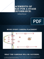 stage placements of cameras 2