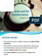 02 metals and reactivity - 01