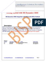 Microsoft Dynamics CRM for Microsoft Office Outlook