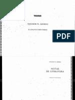 El Ensayo Como Forma-Th. Adorno (1)