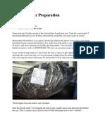Fish Fertilizer Preparation