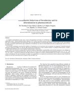 PVoltammetric behaviour of bromhexine and its determination in pharmaceuticals
