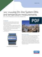 CM3120 en SKF Multilog DMx-Temperature Measurements