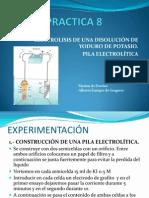 PRESENTACION 8:ELECTROLISIS
