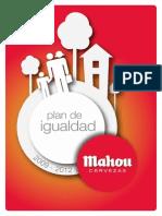 Plan de Igualdad 2009-2012 Cervezas Mahou