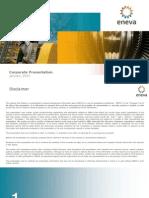 ENEVA Corporate Presentation ? January 2015
