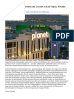 Planet Hollywood Resort and Casino in Las Vegas, Nevada