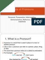 Tugas Pronouns