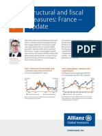 Analysis and Trends Structural and Fiscal Measures France Update