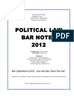 POLITICAL LAW BAR NOTES 2012.doc