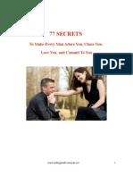 77 Secrets