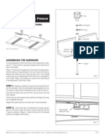 Dp3 Drill Press Fence Instructions