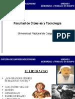 Unidad II Liderazgo YT en Equipo PDF