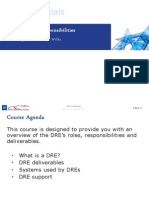 2 DREA TRAINING - DRE_Roles_and_Responsibilities[1]