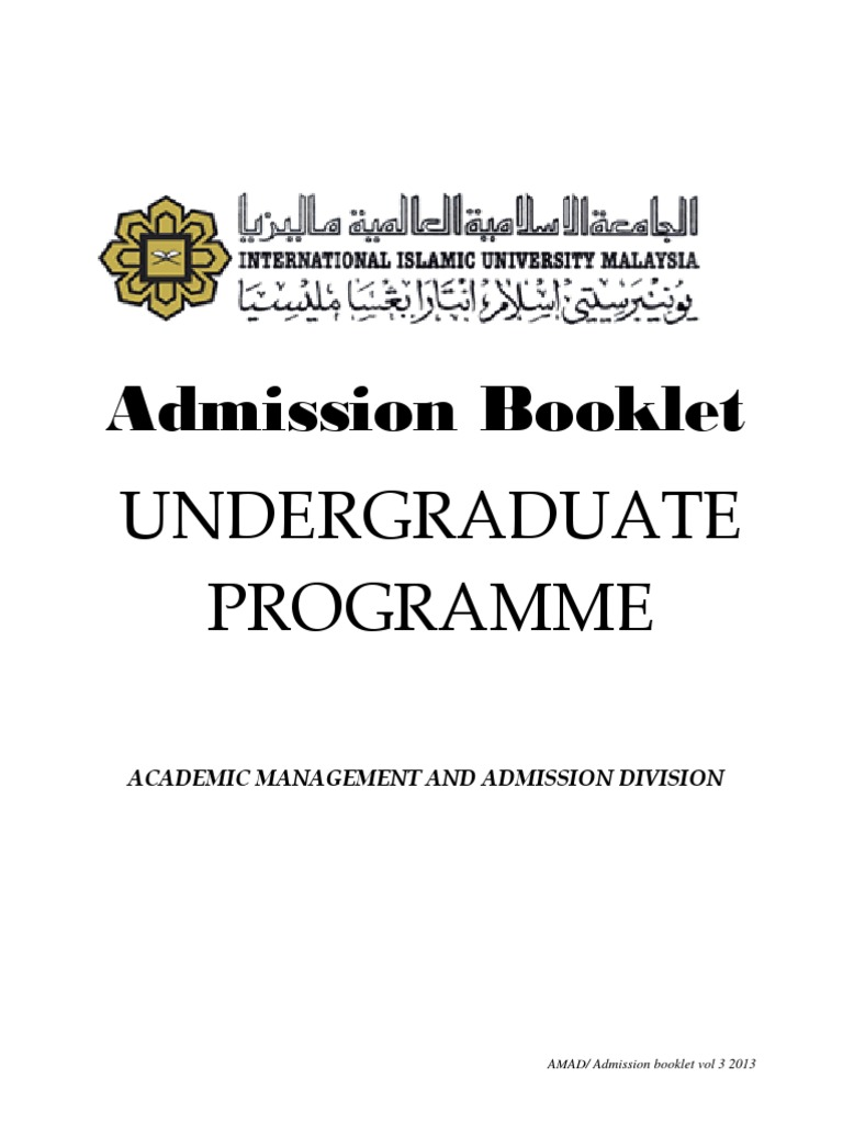 Admbook M1213 Academic Certificate International English