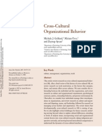 Gelfandetal 2007 Cross-Cultural Organizational Behavior