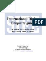 International Dining Etiquette Guide