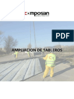 Ampliacion de Tableros Composanpuentes Catalogo