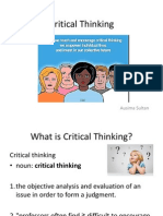 Critical Thinking 1