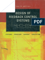 Design Of Feedback Control Systems 4th Ed Stefani Pdf Control Theory Systems Theory