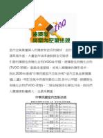 油漆屋與室內空氣法規的關係