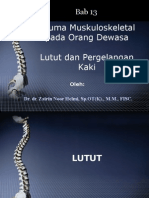 BAB 13c Trauma Muskuloskeletal Pada Orang Dewasa-Lutut Dan Pergelangan Kaki