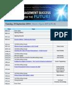 PMI Organizational Agility Conference Agenda