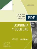 ECONOMIA Y SOCIEDAD - N 27 - DICIEMBRE 2014 - PARAGUAY - PORTALGUARANI