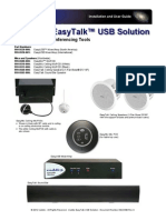 Vaddio EasyTALK Tools Manuals