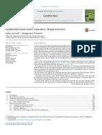 Geothermal Steam-water Separators- Design Overview