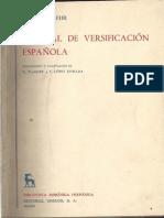 Manual de versificacion española / tr. y adaptacion de K. Wagner y Francisco Lopez Estrada