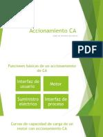Accionamiento CA - ACP