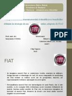 FIAT Startegie de Marketing