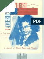 American Atheist Magazine May 1976