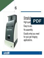 Equipment Monir Enduro Gel Doc System