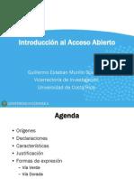 1 - Introducción Al Acceso Abierto