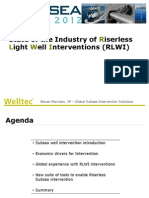 Subsea Asia Riserless Light Well Interventions
