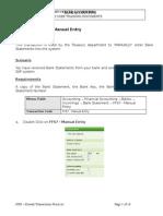 FF67 Manual Bank Statement