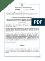 Resolución 3797 de 2014
