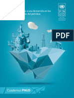 Estudio Pnud impacto precios bajos del petróleo en la economía colombiana