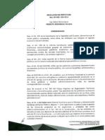 Resolución RP-RDE-024-2014