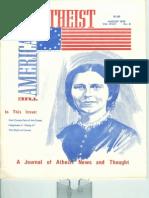 American Atheists Magazine Aug 1976
